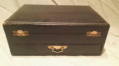 Attractive Antique Cutlery Box, Taylors Eye Witness, Sheffield C1900