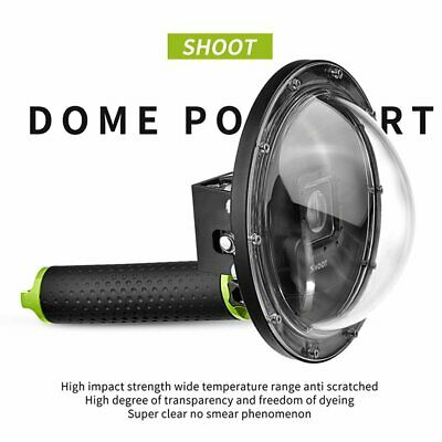 Dome Port For Gopro For Hero 3/3+/4 With Case Spherical Water Lens Hood
