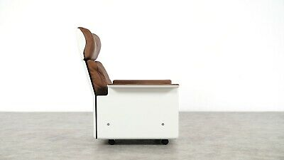 Dieter Rams Lounge Chair RZ 62 | 1962 by Vitsœ | Germany, chocolate Leather