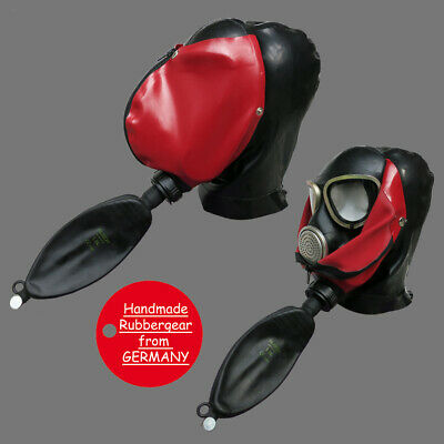 Latex Rubber Gum Studio Gas Mask - custom-made - p13