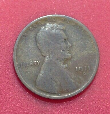 1909 Lincoln Wheat Cent Good Penny GD