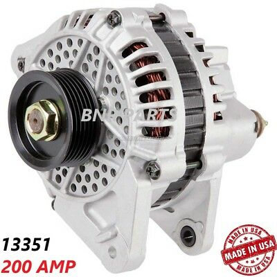 200 AMP 13351 ALTERNATOR MITSUBISHI 3000GT DODGE STEALTH High Output NEW