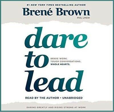 Dare to Lead By Brene Brown AUDIOBOOK (e-Delivery)