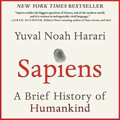 Sapiens By Yuval Noah Harari AUDIOBOOK (e-Delivery)
