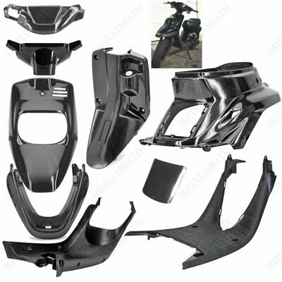 Kit 9 Fairings Black Unpainted Booster Spirit Bw's Original '88/'03