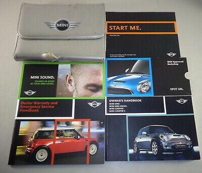Bmw Mini Owners Manual One Cooper S Convertible R50 R52 R53