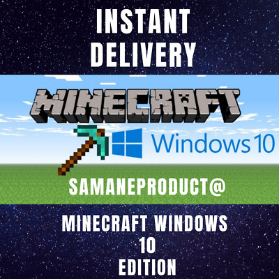 MINECRAFT FOR WINDOWS 10 Edition Key💥 INSTANT DELIVERY 24/7 💥 100