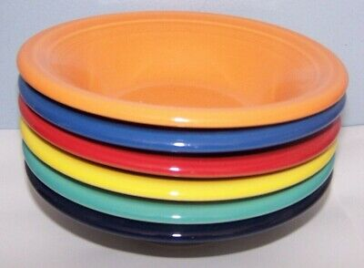 New Fiestaware Set Of 6 Stacking Cereal Bowls Fiesta