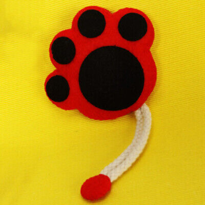 Cat Paw Key Holder Case Felt Applique Kit Felt Material Package for Beginner