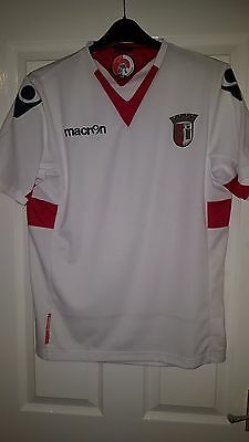 Mens Football Shirt - Sporting Clube De Braga - Portugal - Away 2011-2012 Macron