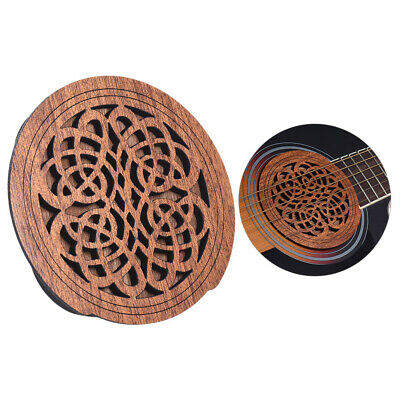 Acoustic Guitar Feedback Buster Soundhole Cover Sound Buffer Hole Protector U3W3