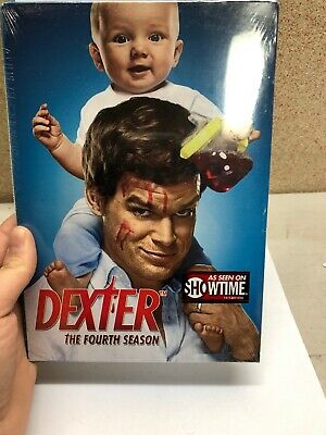 Dexter ~ Complete 4th Season BRAND NEW 4-DISC DVD SET
