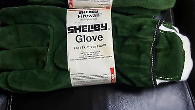 New Shelby Glove Firewall Fire Fighters Large Leather