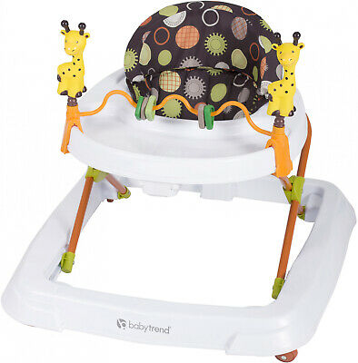 Baby Trend Walker Safari Kingdom -3 position height adjustable,Removable toy bar