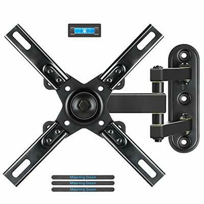 Mounting Dream Full Motion Monitor TV Wall Mounts Bracket with Articulating Arms
