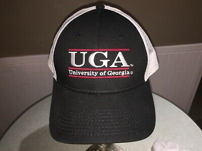 6948b61d547 VINTAGE THE GAME UGA University of Georgia Bulldogs Snapback Trucker ...