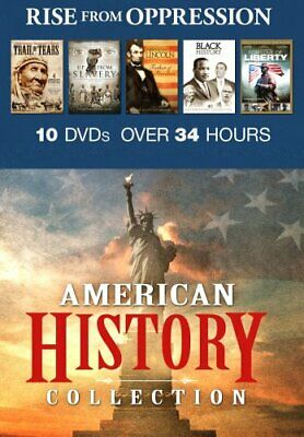 AMERICAN HISTORY COLLECTION RISE FROM OPPRESSION New Sealed 10 DVD Set
