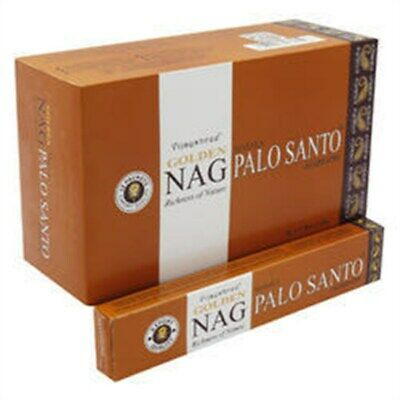 15g Golden Nag Palo Santo Incense Sticks-Bâtons d'Encens Golden Nag Palo Santo