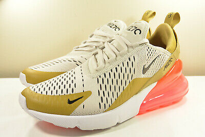 best loved a69c7 63a4c Ds 2018 Nike Air Max 270 Flight Gold Hot Punch M 8   W 9.5 Safari
