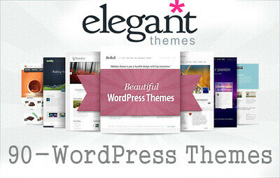 90 Elegant Premium Themes For WordPress