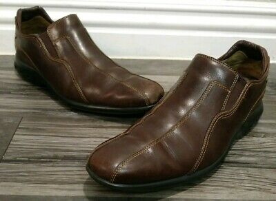 3d4063447e6 Cole Haan Nike Air leather driving loafers lot brown slip on mens size 9.5