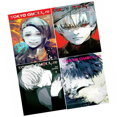 Tokyo Ghoul Series re (Vol 6-9)Sui Ishida 4 Books Collection set Anime and Manga