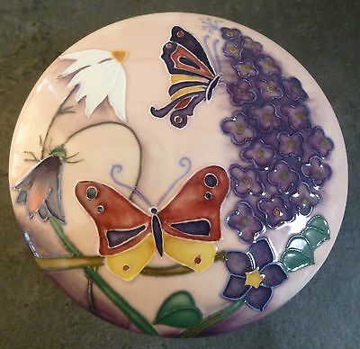 Old Tupton Ware Floral & Butterfly Lidded Trinket Dish