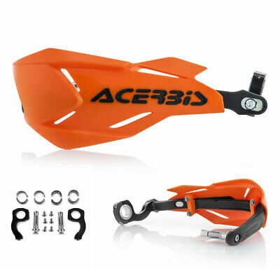 Acerbis Handguards Enduro MX Handprotektoren X-Factory orange schwarz