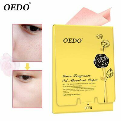 90 pieces / box Oedo rose fragrant oil absorption face pa K∨