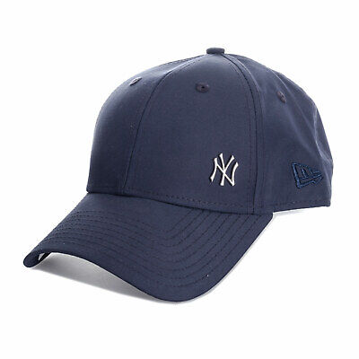 New Era Mens Flawless Logo New York Yankees 9Forty Cap in Navy - One Size acd440ee129f