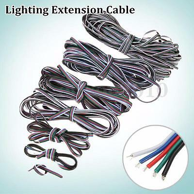 1M-50M 5 Pin Extension Cable Line Cord Wire 3528/5050 RGBW LED Strip Light