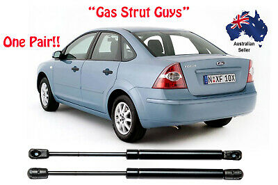 2 x NEW Ford Focus SEDAN  Boot gas struts 2000 to 2010 Models LR to LX
