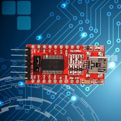 FTDI FT232RL USB to TTL Serial Converter Adapter Module 5V and 3.3V para Arduino