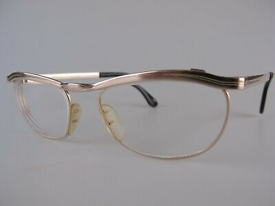 18facef88180 Vintage 50s Marwitz Optima Gold Filled Eyeglasses Size 50-16 Made in Germany