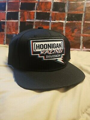 HOONIGAN RACING DIVISION Embroidered Flat Bill Cap Hat -  18.88 ... 8e3ce6afb5ae
