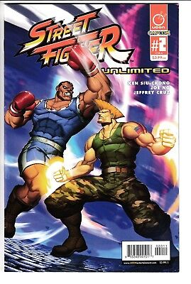 STREET FIGHTER UNLIMITED #2, COVER A GENZOMAN, New, First Print, Udon (2015)