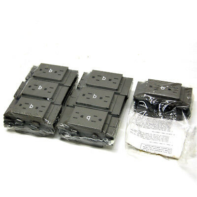 (Lot of 14) NEW Herman Miller K1311.B MT Duplex Receptacles 8-Wire Series 3