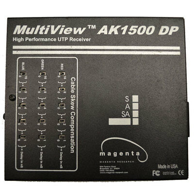 Magenta MultiView AK1500DP High Performance UTP 2-Port Cat 5 Receiver
