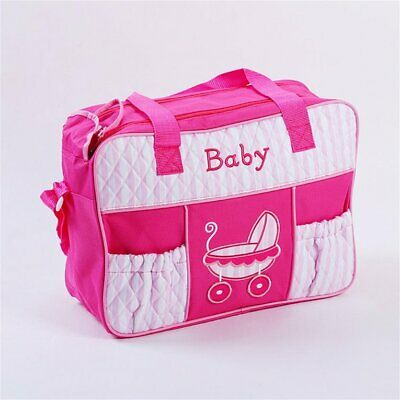Large Capacity Mummy Bag Multifunctional Fashion Embroidery Patchworks Hand E⊿