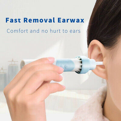Ear Wax Remover, Kemei Cleaner Electric Earwax Remover with LED Safe and...