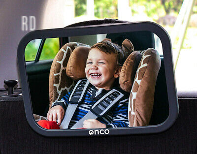 Onco Baby Car Mirror - Peace of mind to keep an eye on baby in a rear facing...
