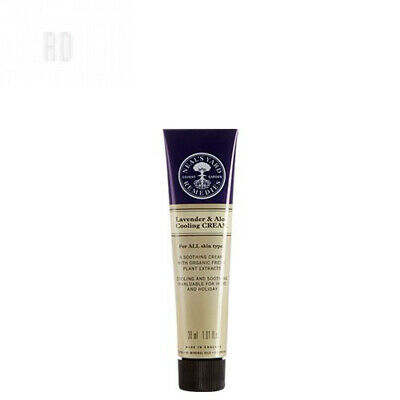 Neal's Yard Remedies Lavender & Aloe Cooling Cream 30ml (boxed)