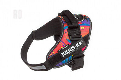 Julius-K9 16IDC-PSYCHO-0 IDC Powerharness, Dog Harness, Size 0, Psycho Canis