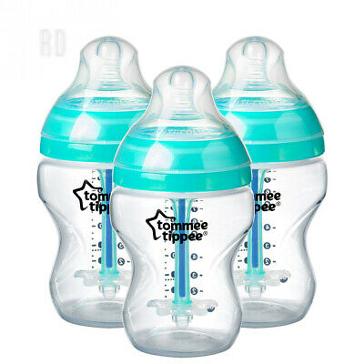 Tommee Tippee Advanced Anti-Colic Bottles, 260 ml, 3 Count