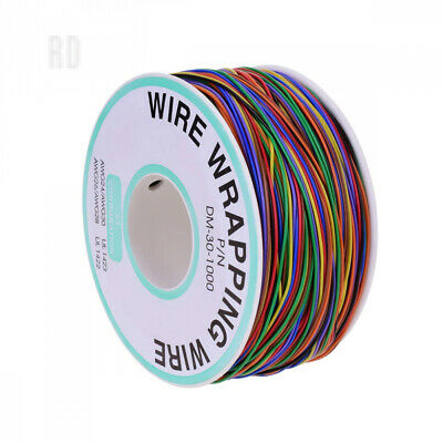 YoungRich 280m Insulation Test Wrapping Cable Tinned Copper Solid 30AWG 8...