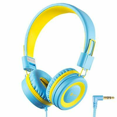 c26a63c614e iClever Kids Headphones Girls Toddler - Wired Headphones for Kids on Ear