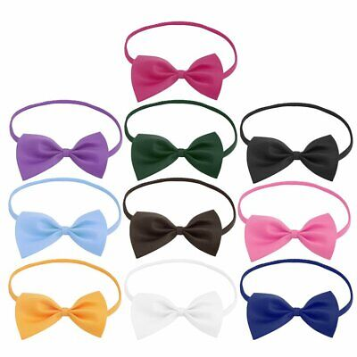 New Boys Children Solid Bowtie Pre Tied kids Wedding Party Satin Bo JB