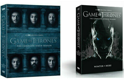 Game of Thrones: The Complete 6-7 Seasons 6 7(DVD) Box Set Bundle Combo NEW US