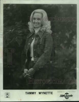 1974 Press Photo Country music singer Tammy Wynette at the Opera House