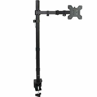 VIVO Extra Tall Single Monitor Desk Mount Stand up Pole Fully Adjustable